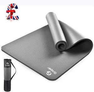 Quality Thick Yoga Mat, Eco Friendly NBR - Non Slip185 x 80cm(LxW), Premium Exer
