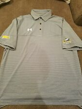 Lasalle University Explorers Golf MAAC division Under Armour golf polo XL nwot