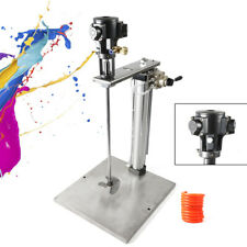 New listing 5 Gallon Pneumatic Mixer Machine with Stand Height Auto Lifting Coating Mix Tool