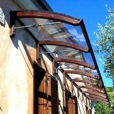 Abris bois DIY d'entrée fenêtre - Auvent banne de entrée - Plantilla LEGNO PIGNA