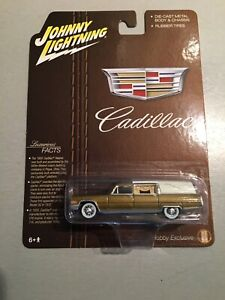 FREE SHIP JOHNNY LIGHTNING HOBBY SHOP LIMITED RELEASE 1966 GOLD CADILLAC HEARSE