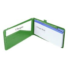 Cheque Book Holder Cheque Book Case Card Holder Cheque Holder FreeShip Worldwide