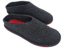 Barfußschuh aus Wollfilz Filzpantoffel Filzhausschuhe Hausschuhe Pantoffeln