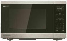 Sharp R890EST 1100W Smart Convection Microwave
