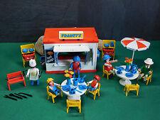 Playmobil ***Rarität*** Franky's Restaurant 3146-A/1986, ohne OVP!