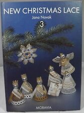 Jana Novak, New Christmas Lace 3, hb Published by Moravia 1997, Lace-Making