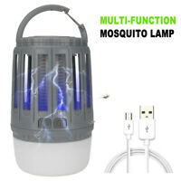 Usb Electric Fly Bug Mosquito Insect Killer Led Light Trap Lamp Pest Control Mar#28 Novel In Design;