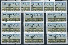 ATM Berlin VS1 TS1 postfrisch komplett alle mit Zählnummer Automatenmarken MNH