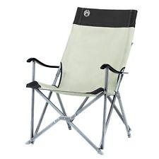 Pieghevole, High-backed Sedia COLEMAN Sling chair con telaio in alluminio-Cachi