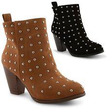 Zip Block Heel Faux Suede Women's Evening Shoes