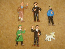 Tintin Plastic Figures - 1990 Bully - Individual Purchase
