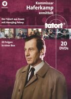 TATORT - KOMMISSAR HAFERKAMP BOX  20 DVD NEU