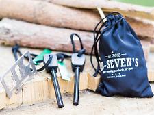 60 Stk. Survival Kit - 2 Magnesium Anzünder Notfall Set Outdoor % RESTPOSTEN %