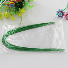 40 pcs Stocking Flower Thread Commonly Iron Wire Green Threads DIY Tools LH