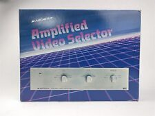 Archer Amplified RF COAX Video Selector 15-1264 Radio Shack Tandy TESTED
