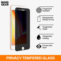 For iPhone 6S+ 7+ 8 Plus Privacy Screen Protector Premium AntiSpy Tempered Glass