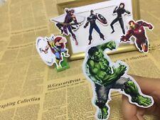 Avenger Ironman Hulk Thor Pegatina Scrapbook Fiesta Caramelo Bolsa Regalo de Cumpleaños Fiesta
