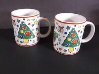 Block China Christmas Party mugs