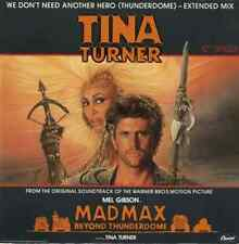 """TINA TURNER - We Don't Need Another Hero (Thunderdome) (12"""") (VG/VG)"""