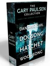 The Gary Paulsen Collection BOXED SET Dancing Carl; Dogsong; Hatchet; Woodsong
