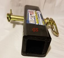"""Trailer Hitch Reducer Adapter 2"""" to 1 1/4"""" Receiver Converter Big to Small w/pin"""