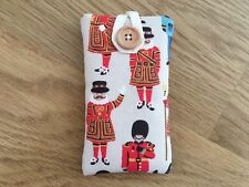 iPhone 5 5S 5C SE Fabric Padded Case Cover - Cath Kidston Guards And Friends