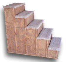 Pet step 34 Inch tall Wood Pet Step  34x34X16    5 STEP