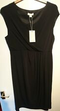 Monsoon Ladies Layla Lace Dress Black Uk 20 Bnwt