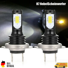 2Stück 110W H7 LED Nebelscheinwerfer Auto Tagfahrlicht Canbus Lichter Weiß 6000K