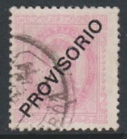 Portugal - 1892/3, 20r Rosine - Optd PROVISORIO -  Used - SG 290
