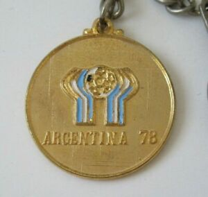 Vintage Argentina 78 FIFA World Cup Keychain