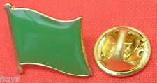Libya Green Lapel Hat Cap Tie Pin Badge Flag of the Libyan Arab Jamahiriya