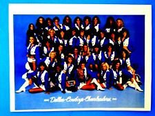 Dallas Cowboys Cheerleaders 1980 1981 Original Print Ad 8.5 x 11""