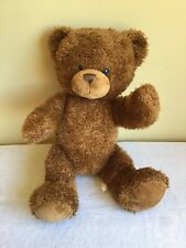 """Build A Bear Cocoa Fuzzy Jointed Brown Teddy Bear Plush Stuffed Animal Toy 18"""""""