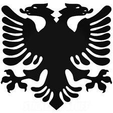 Albanian Flag Eagle Sticker 6