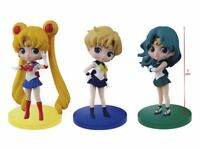 BANPRESTO Sailor Moon Q posket petit vol.3 all 3 set Uranus Neptune Figure