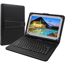 "Tagital 10.1"" Android Tablet PC Unlocked 3G Dual Sim Phablet GPS Bundle Keyboard"