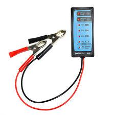 Automotive 12V Storage Battery Tester Charger Alternator Cranking Check Portable