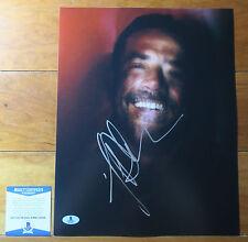 Jeffrey Dean Morgan signed autograph 11x14 Photo TWD Walking Dead Negan BAS