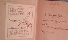 Peace by S. Parkes Cadman SIGNED 1929 1st Ed/ 3rd Printing HCNDJ