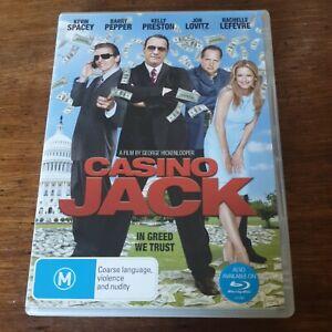 Casino Jack DVD R4 Like New! FREE POST