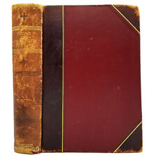 Facing the Twentieth Century James M. King 1899 Am Union League Society Leather
