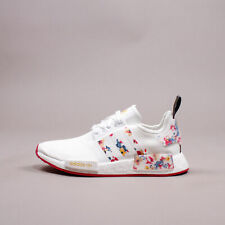 Adidas Originals NMD R1 Boost White Pink Floral Lifestyle gym Women Shoes FY3666