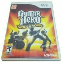 Guitar Hero: World Tour (Nintendo Wii, 2008) Complete With Case & Manual