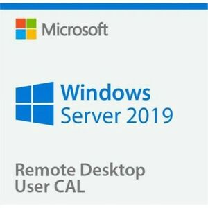 Windows Server Standard 2019 + Remote Desktop Services 50 User/Device RDS CALs