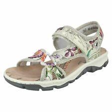 0c5c1fa88bd7 Ladies Rieker Slingback Sandals 68879 UK 8 Multi Standard