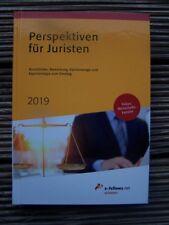 Perspektiven für Juristen 2019 Michael Hies Buch e-fellows.net wissen Deutsch