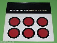 """The System - This is for you Extended - 1985 Maxi 12"""""""