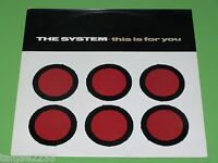 """The System - This is for you / Love won't wait for lovin' - 1985 Maxi 12"""""""