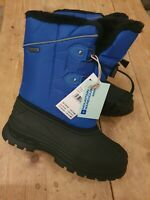 Kids Snow Boots Snowproof Lined Girls Boys Winter Snowboots size 2 new